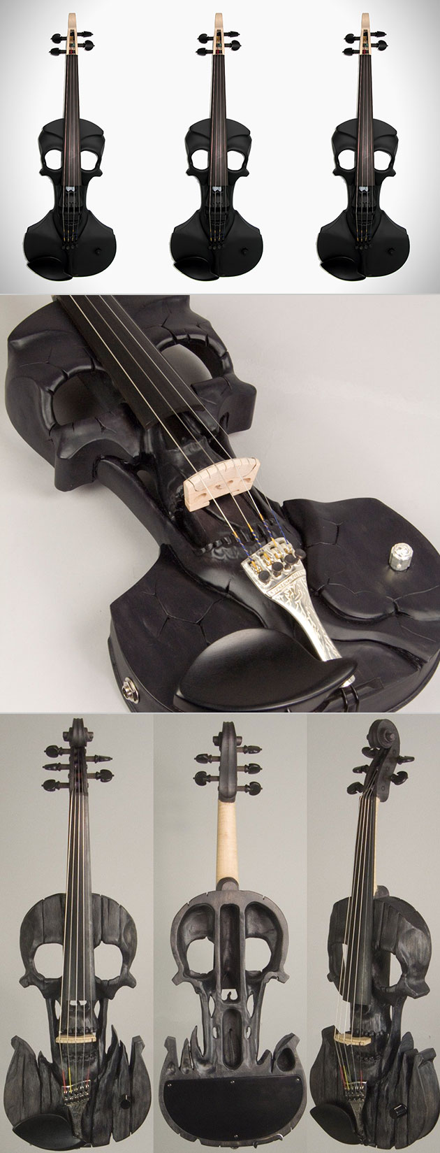 Stratton Skull Violin