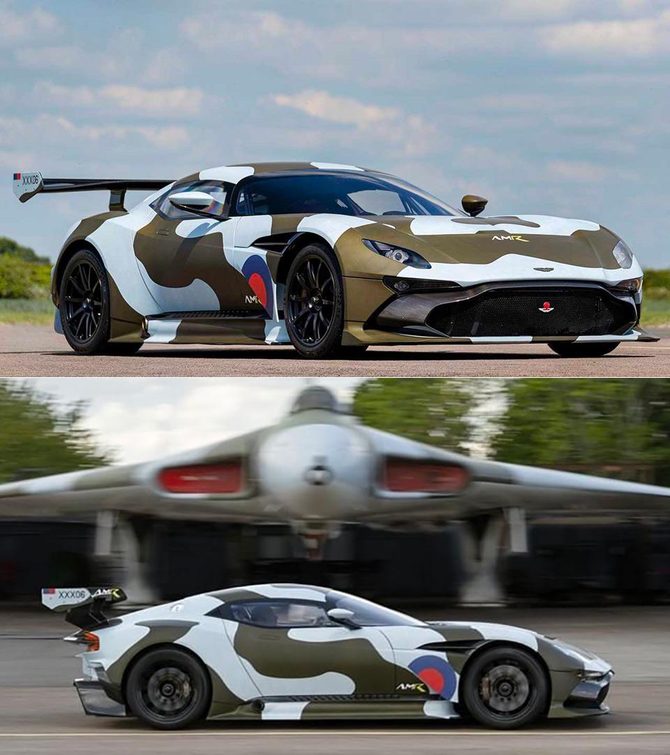 Street Legal Aston Martin Vulcan Gumball