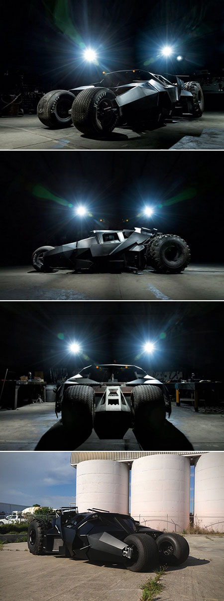 Street-Legal Batman Batmobile Tumbler