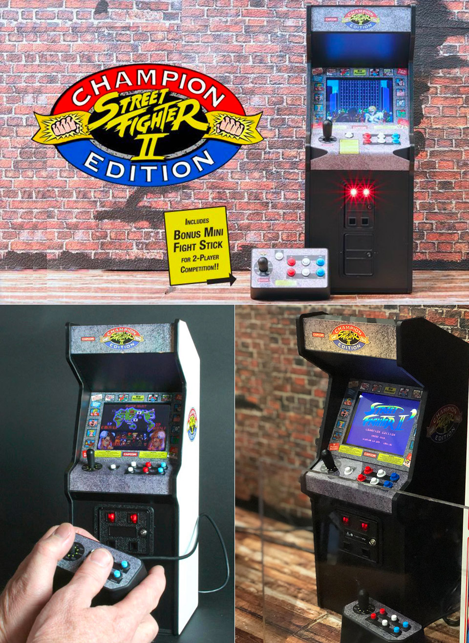 street fighter 2 champion edition arcade cabinet