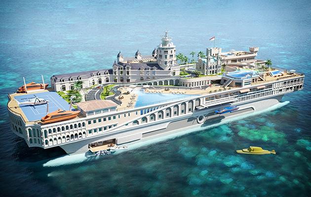 Streets of Monaco Superyacht
