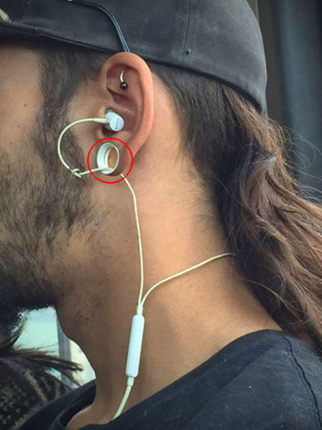 Stretched Earlobes Earphones