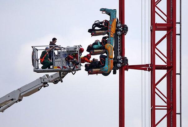 Stuck Roller Coaster