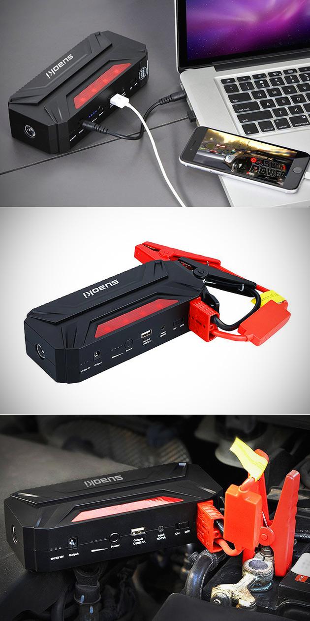 Suaoki T3 Car Jump Starter Power Bank