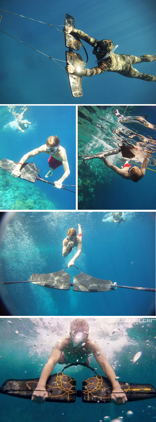 Fly Underwater Subwing Lets You Fly Underwater