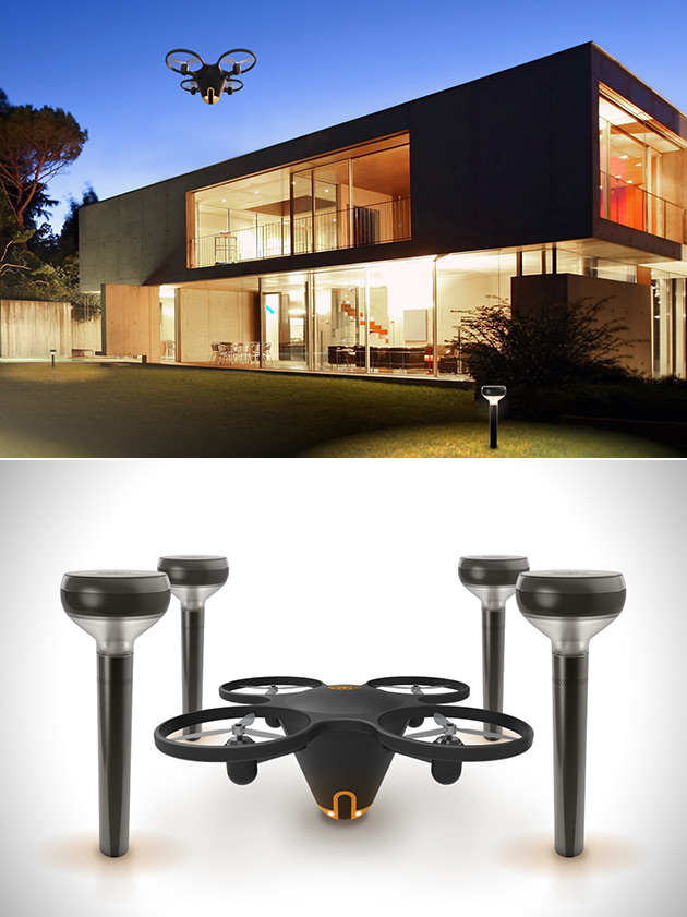 Sunflower Drone Home Awareness System