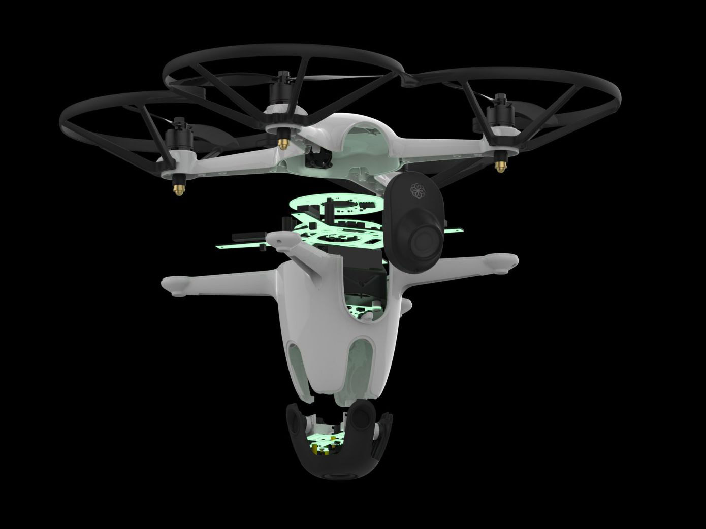 Sunflower Home Awareness System Security Drone