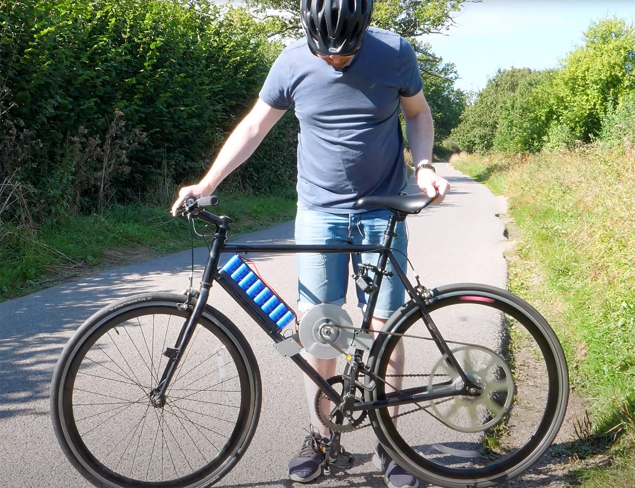 Super Capacitor Bike Bicycle