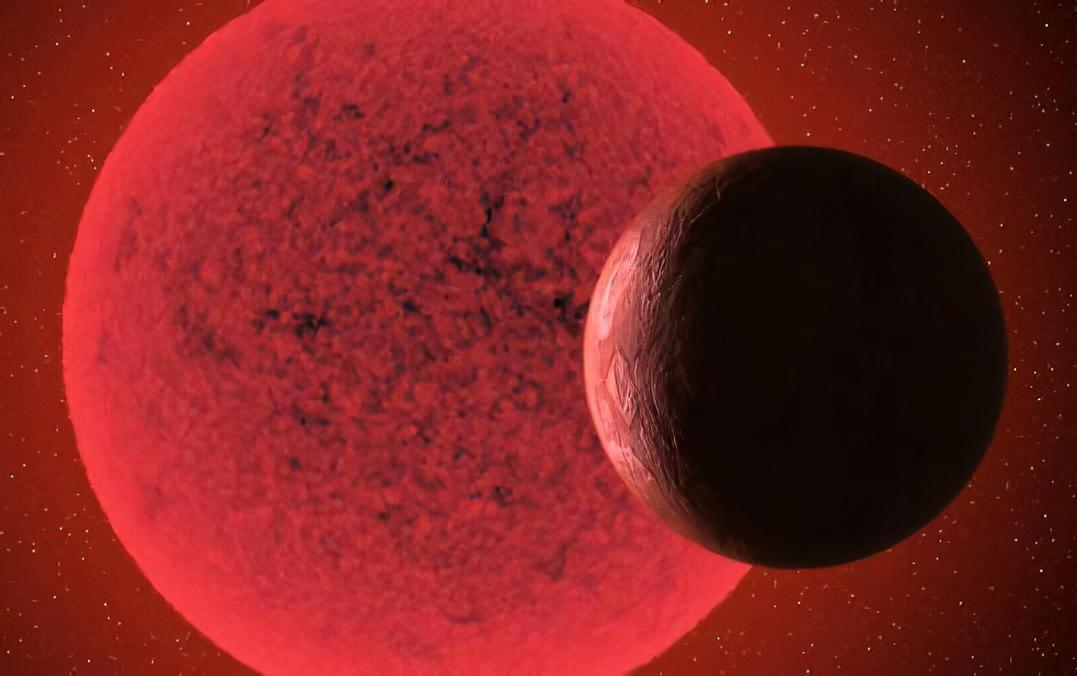 Super-Earth Orbit Red Dwarf Star
