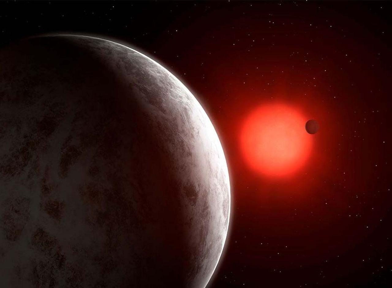 Super Earth Star Exoplanet Red Dwarf
