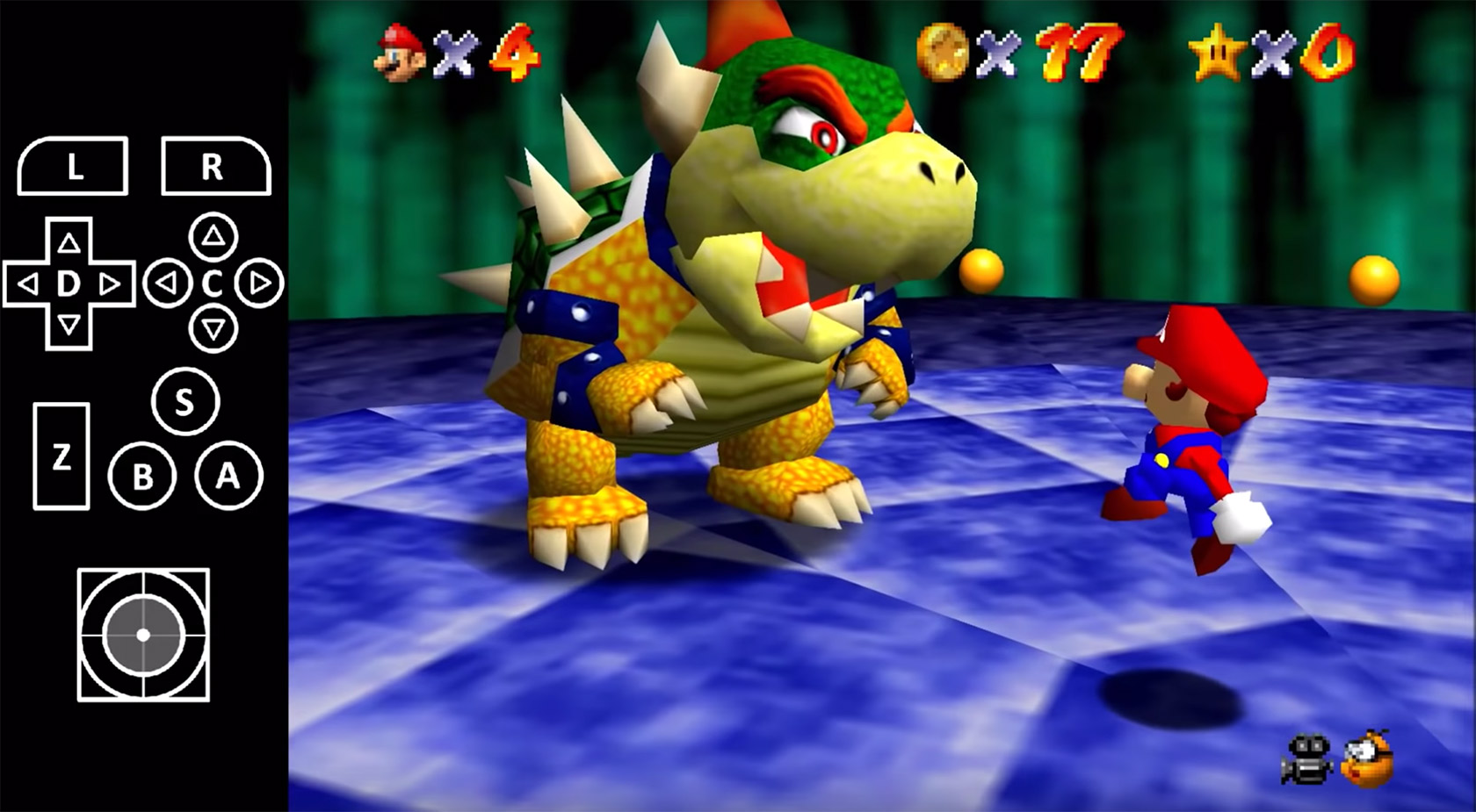 Super Mario 64 Bowser No Joystick