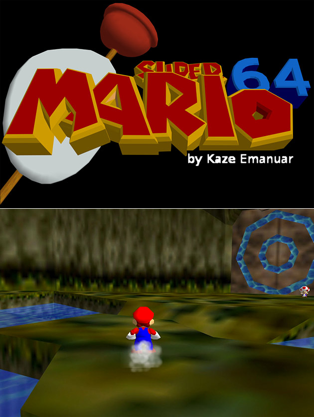 Super Mario 64: Ocarina of Time