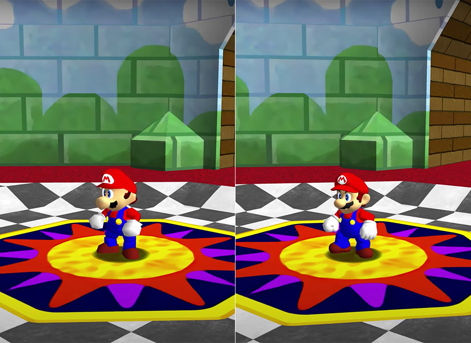 Super Mario 64 PC Port HD Unreal