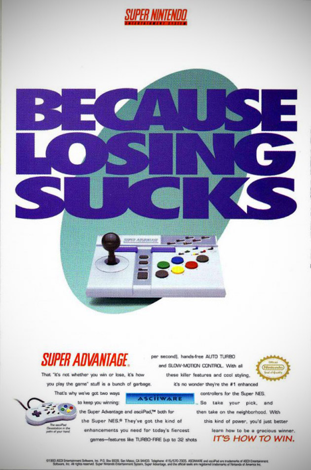 Super Nintendo Super Advantage