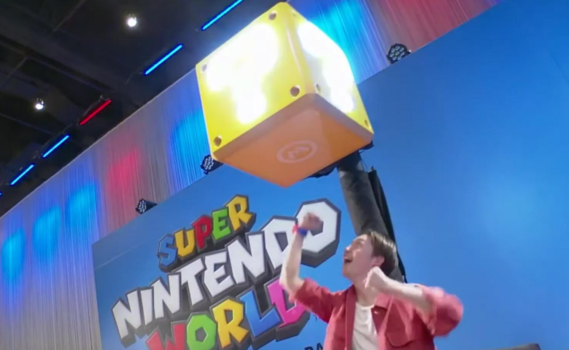 Super Nintendo World Coin Boxes