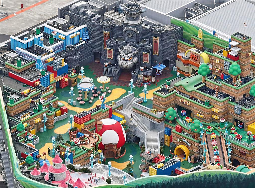 Super Nintendo World Japan Pictures