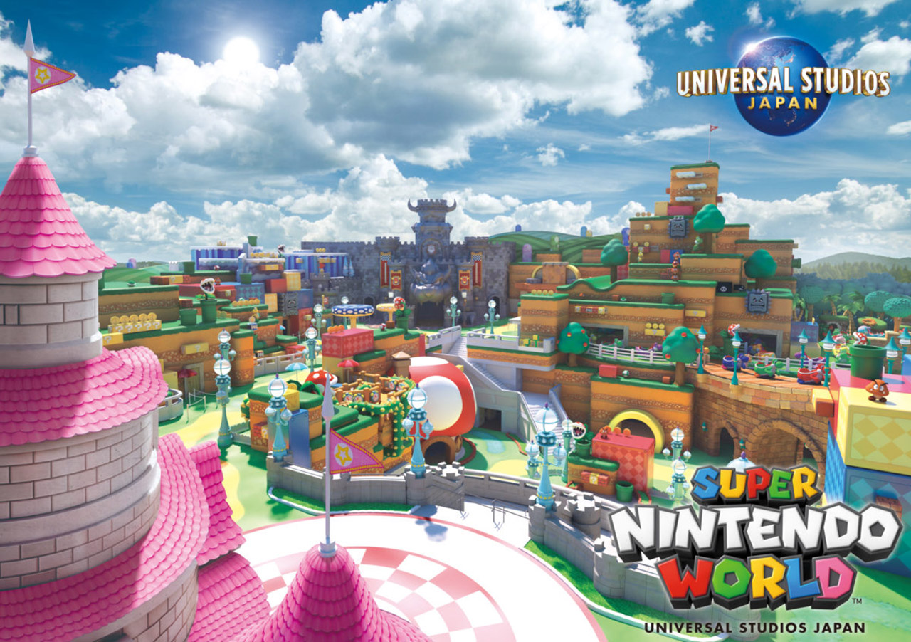 Super Nintendo World Opening Universal Studios Japan