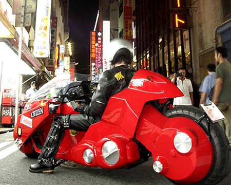 This incredible custom motorbike not only looks straight from the