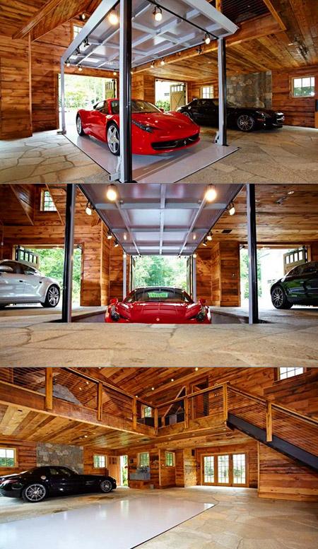 World S Coolest Supercar Garage Features A High Tech
