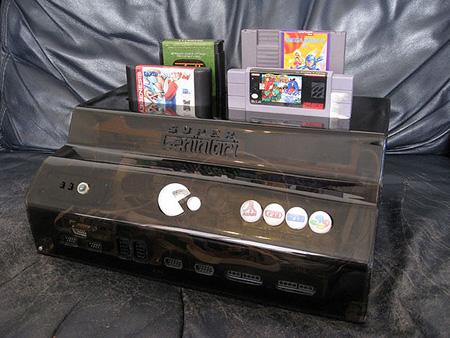 Super Genintari The Custom 4 In 1 Gaming Console Video