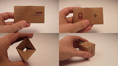 interesting business card