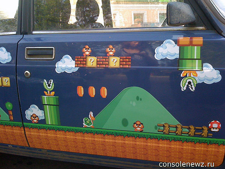 Super Mario Bros. Car