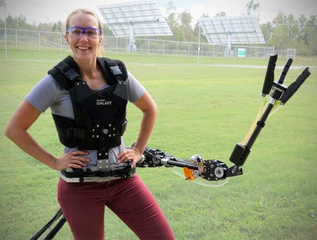 Supernmerary 3DOF Robotic Arm