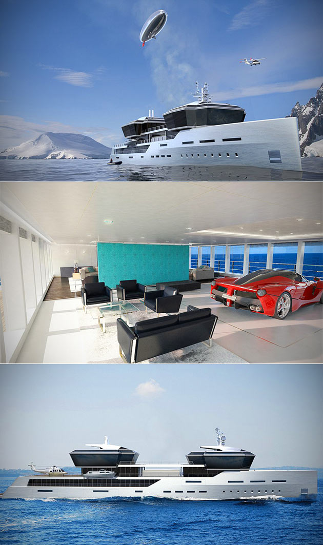 Superyacht Supercar Garage
