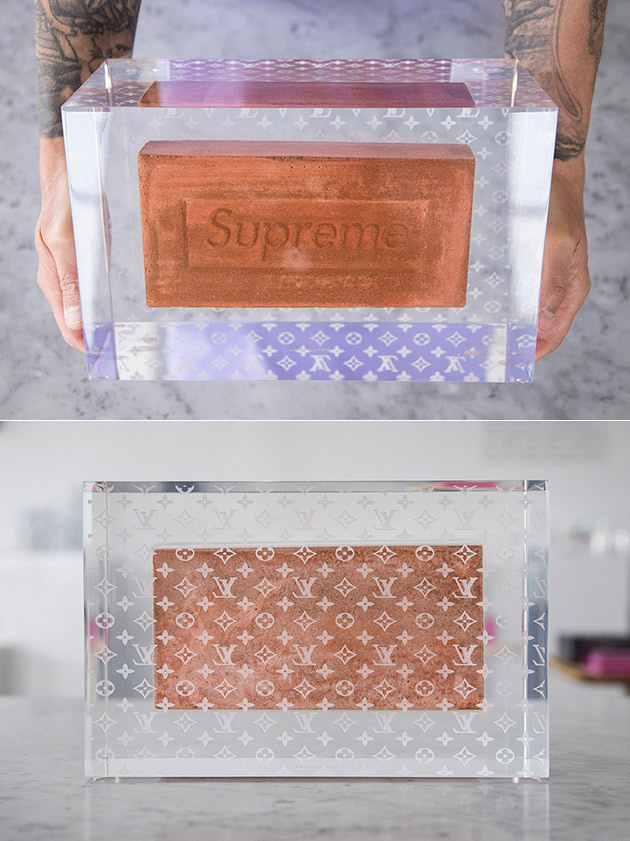 Supreme Brick Louis Vuitton