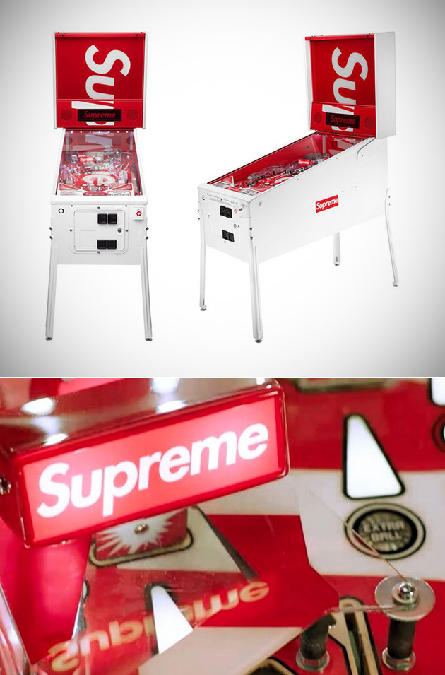 Supreme Pinball Machine and 15 More Interesting Images from Around the Web