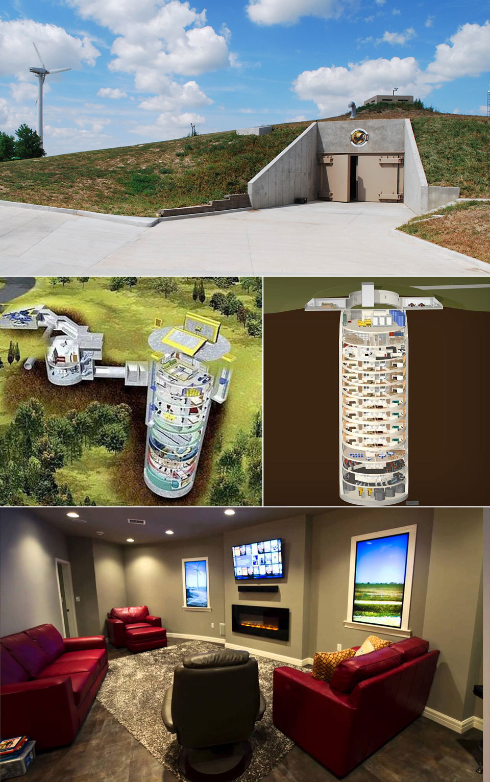 Survival Condo Doomsday Bunker