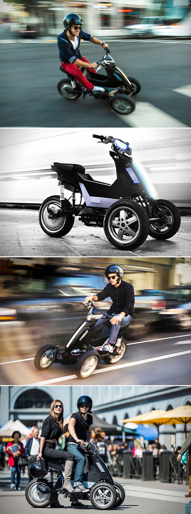 Sway Motorsports Leaning Electric Trike