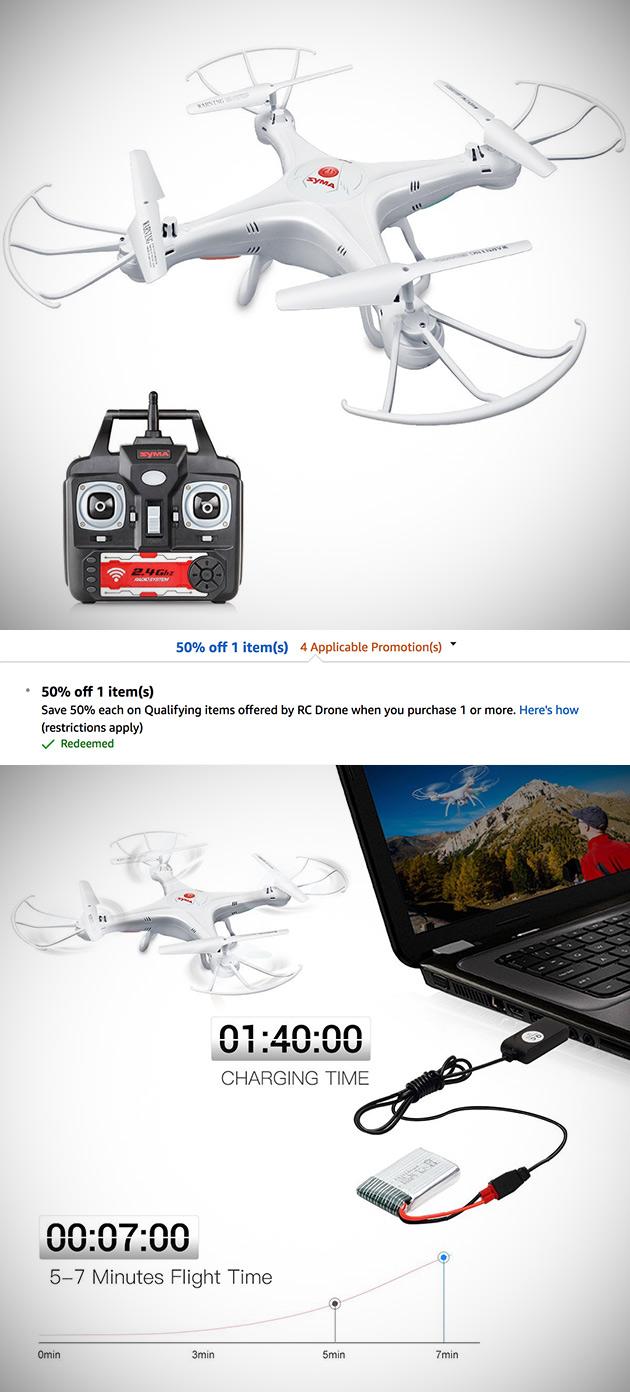 Syma X5A-1 Explorers Drone