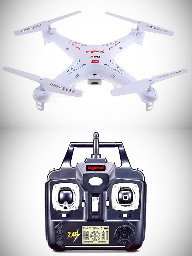 Syma X5C Quadcopter Drone Comes Equipped w/HD Camera, Get One for $29.95 Shipped - Today Only