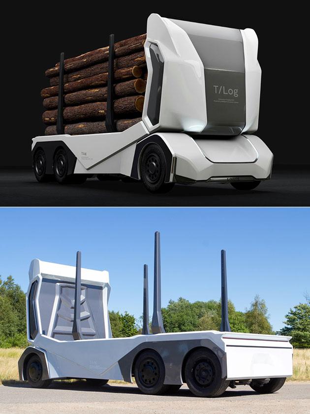 T-Log Autonomous Truck