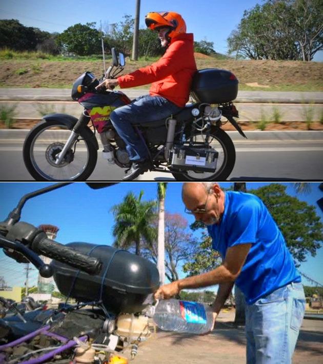 Water Powered Motorbike