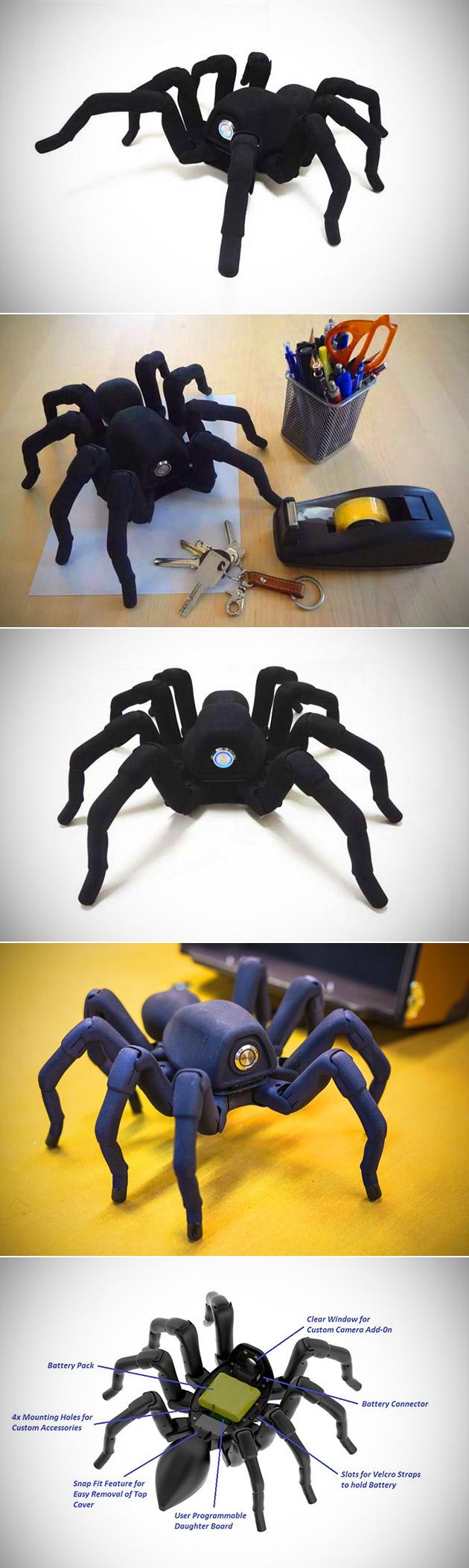 T8 3D-Printed Robot