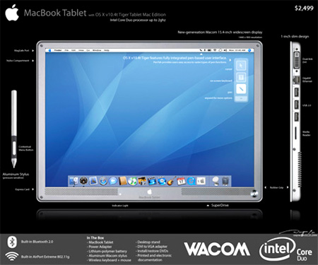 Feature: If Apple Made a Mac Tablet, This is What it Might Look ...