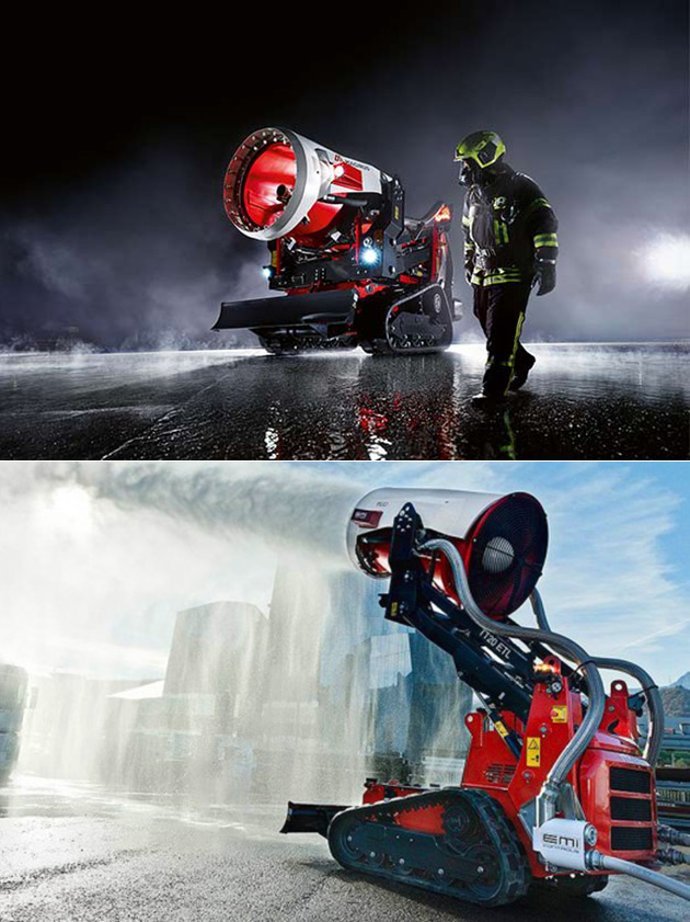 TAF20 Fire-Fighting Robot
