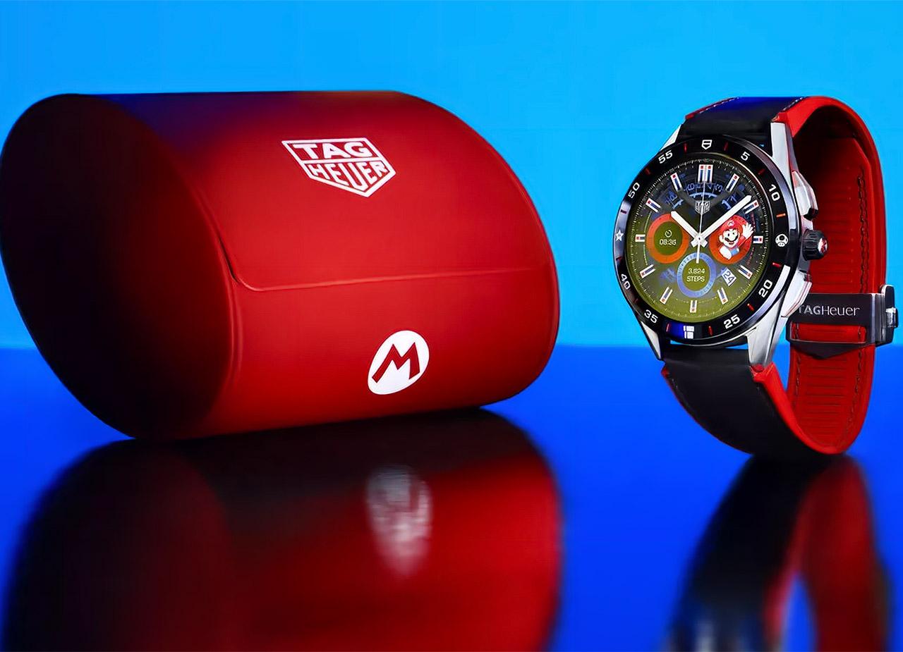 TAG Heuer Nintendo Super Mario Bros Smartwatch