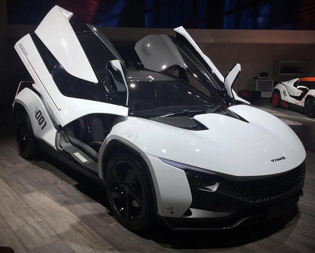 RaceMo Sportwagen von Tamo Können Smartphone-Gesteuert, Verfügt über Modulare Design