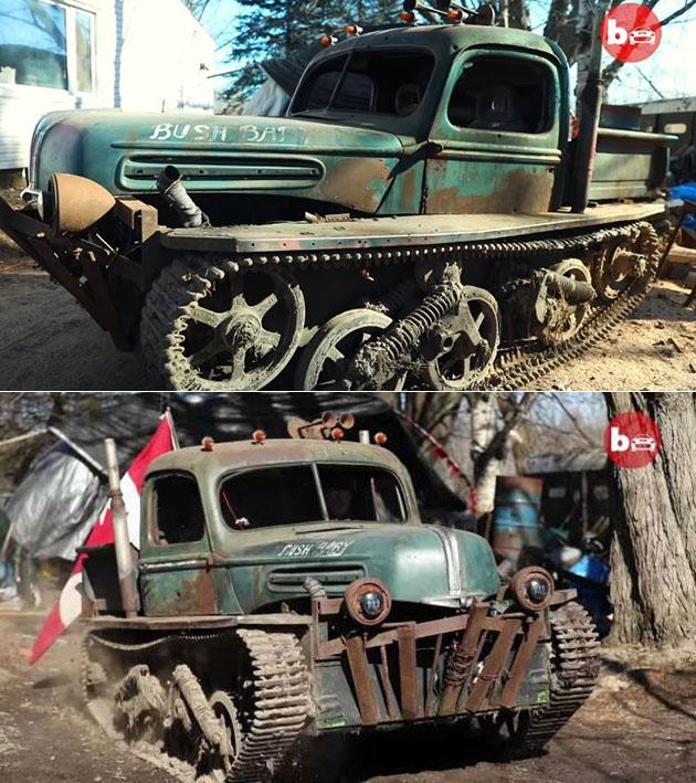 Tankenstein WW2 Tank