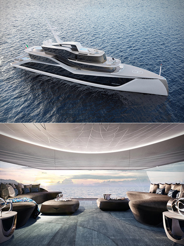 Tankoa Project Bolide Yacht