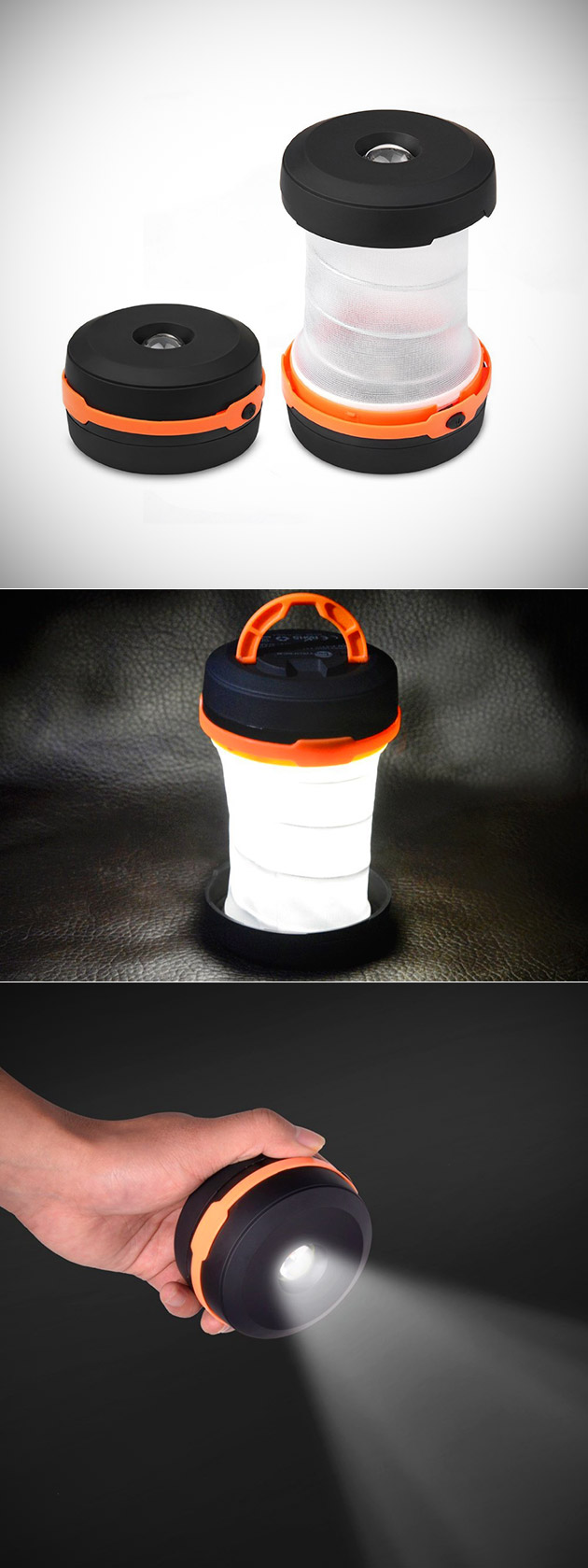 TaoTronics Collapsible Lantern
