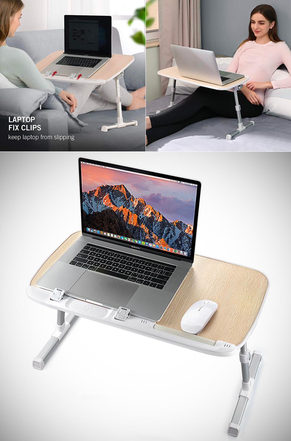 TaoTronics Folding Laptop Lap Desk