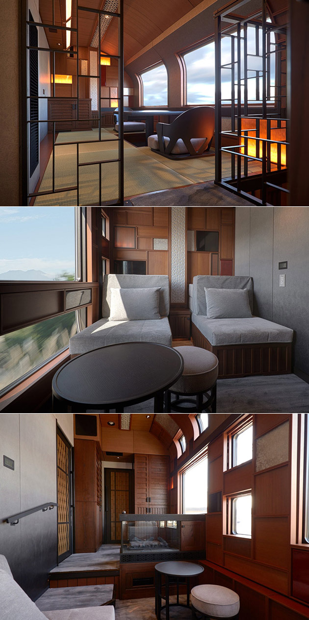 Tatami Suite Luxury Train Japan