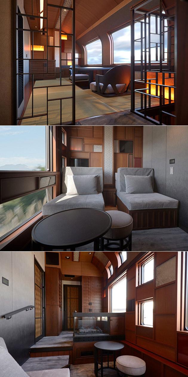 Tatami Suite Luxury Train Japan