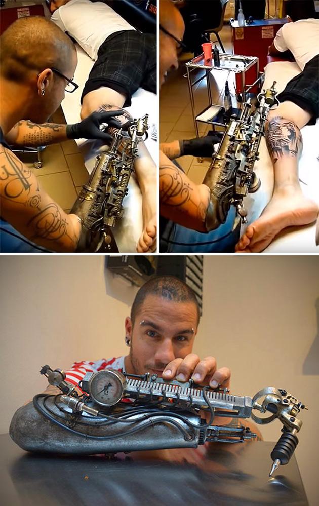 Tattoo Machine Prosthetic Arm