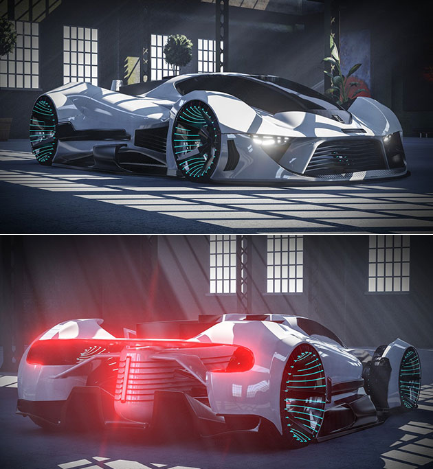 Tauro Electric Hypercar