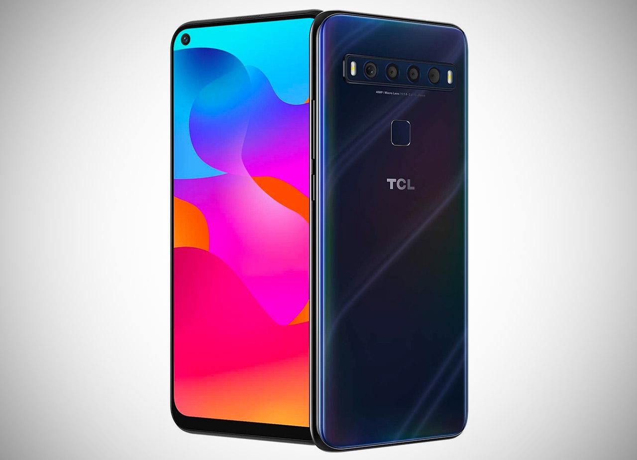 TCL 10L Mariana Blue Smartphone <a href=
